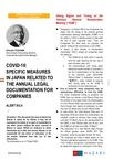 COVID-19 ALERT NO.4 ANNUAL LEGAL DOCUMENTATION FOR COMPANIES
